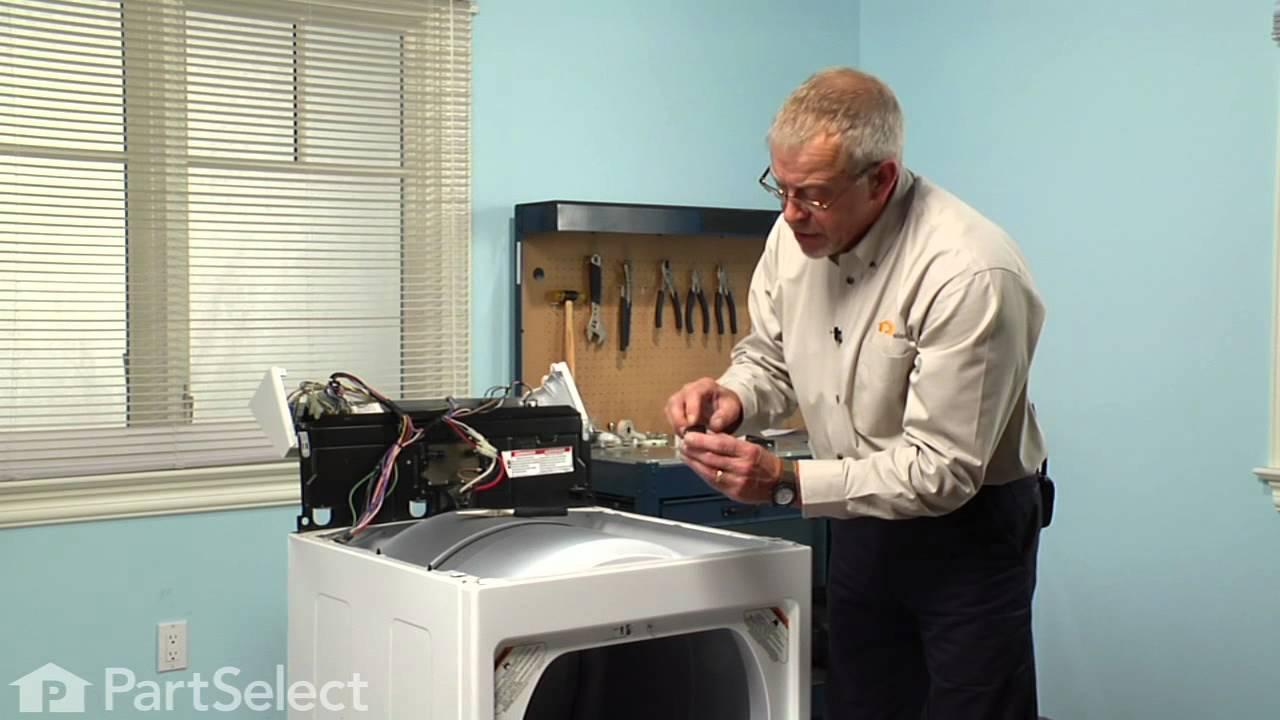 Replacing your Kenmore Dryer Dryer Door Switch Actuator Spring/Lever
