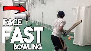 How to Destroy Fast Bowling - Batting Drill