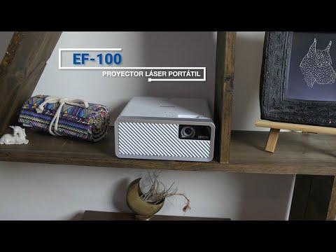 Lo que le encanta a los clientes del mini proyector láser EF-100