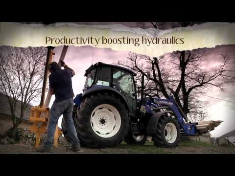 New Holland T4 Tractor Series