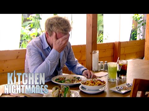 Gordon Ramsay Can't Stop Laughing At The Food | Kitchen Nightmares