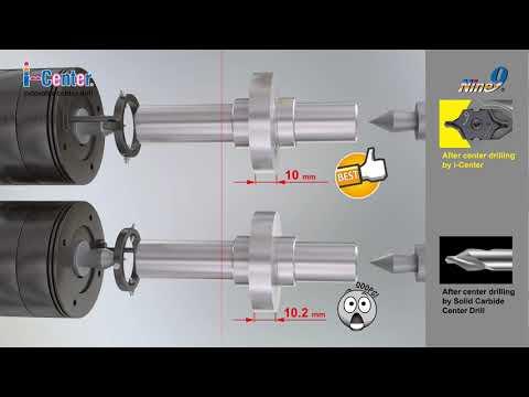 Nine9 i Center Indexable Center Drill