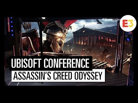 #12 Assassin's Creed Odyssey – Ubisoft E3 2018 Conference