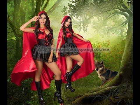 Disfraz de Caperucita Roja Traviesa, disfraces para halloween
