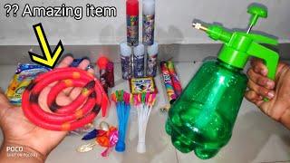 Holi stash,snake,balloon filling machine etc../CY
