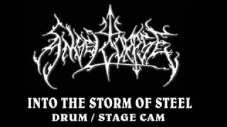 Angelcorpse Drum/Stage Cam  , Into the Storm of Steel