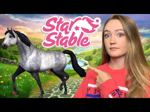 EQUESTRIAN TRIES TO PLAY STAR STABLE!