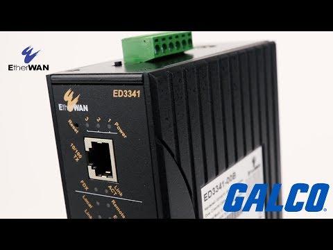 EtherWan ED3341 Series Ethernet Extender