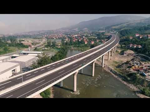 Pogledajte kako izgleda završeni dio autoputa kod Zenice (VIDEO)