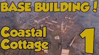 Fallout 4 Settlements - Building Coastal Cottage - Episode 1