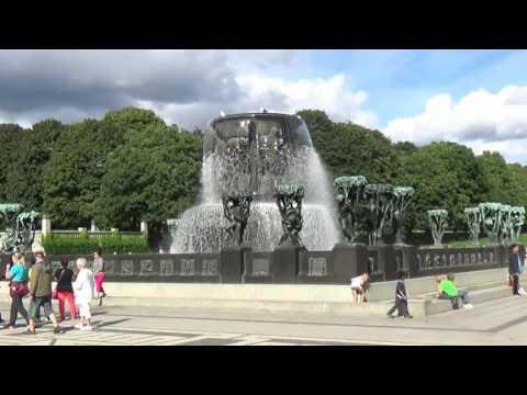 Осло, парк Густава Вигеланда