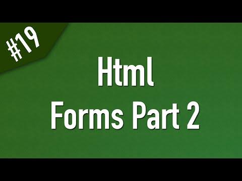 تعلم Html القائمة #1 الفديو #19