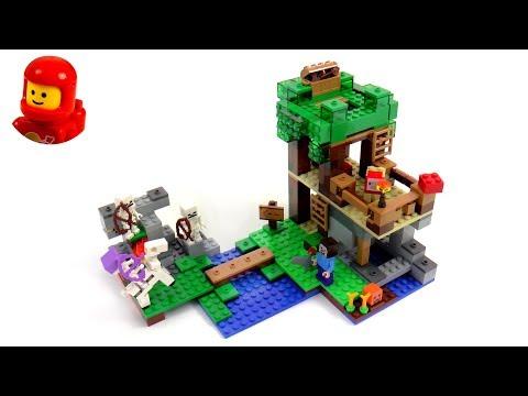 Vidéo LEGO Minecraft 21146 : L'attaque des squelettes