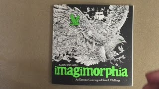 Imagimorphia An Extreme Coloring And Search Challenge US Edition Flip Through