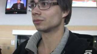 Alexander Rybak arrives to Tallinn