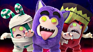 Oddbods LIVE 🔴 PARTY MONSTERS Full Episodes 🎃🕷 Best Halloween Specials 🕸🎃 Cartoons for Kids