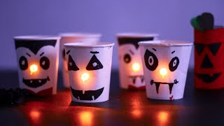SPOOKY HALLOWEEN | HALLOWEEN JAR DECORATIONS | EASY HALLOWEEN CRAFTS FOR KIDS