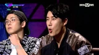[UNPRETTY RAPSTAR 2] Episode 3, Yezi Rap Cut - Crazy Dog w/ENGLISH AND KOREAN SUBS (Updated)