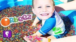Worlds Biggest ORBEEZ Pool Surprises! Toys Minion, Marvel Blind Boxes HobbyKidsTV