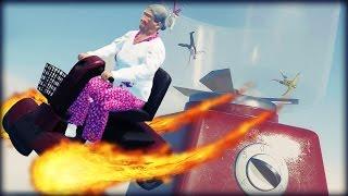 SOARING THROUGH THE AIR! | Stuntfest #2