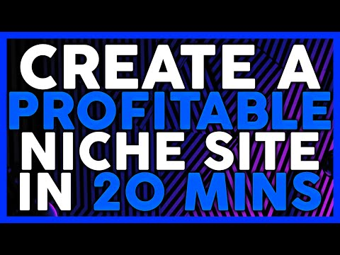 Create a Profitable Niche Site In 20 Mins (Covert Theme)