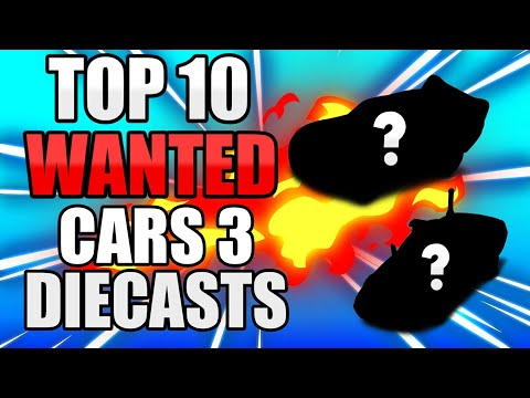 Sheriff's Top 10 MOST WANTED Cars 3 Diecasts In 2018!!