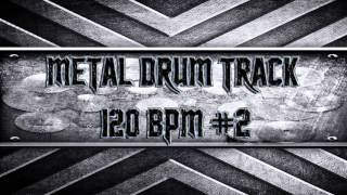 Nu-Metal Drum Track 120 BPM (HQ,HD)