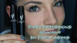 First Impressions :: Younique Moodstuck 3D Fiber Lash Mascara
