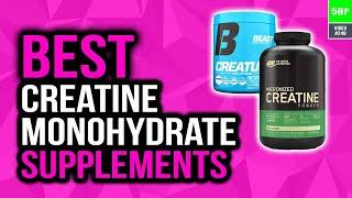 Best Creatine Monohydrate Supplements In 2020 (Top 5 Picks)