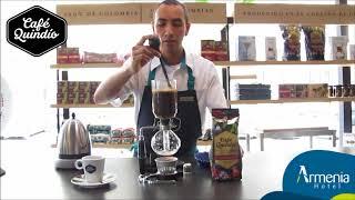 Método Café de Sifón
