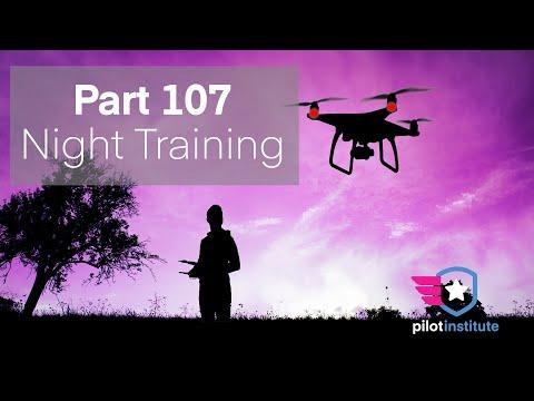 Part 107 Night Training (full course) - YouTube