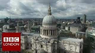 Drone over London - condemned by professional drone pilots