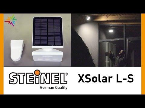 STEINEL XSolar L-S LED Solar Außenleuchte im Praxistest