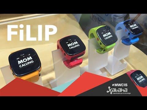 Filip, el reloj inteligente para niños - MWC 2015
