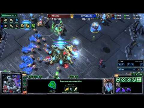StarCraft 2 - Heart of the Swarm - WhiteRa vs [MYM]Leslie - PvZ - Neo Planet S LE
