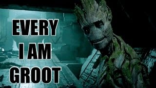 """EVERY """"I AM GROOT"""" IN GUARDIANS OF THE GALAXY"""