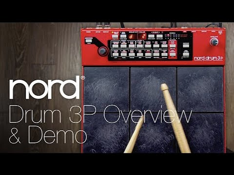 Nord Drum 3P Overview & Demo