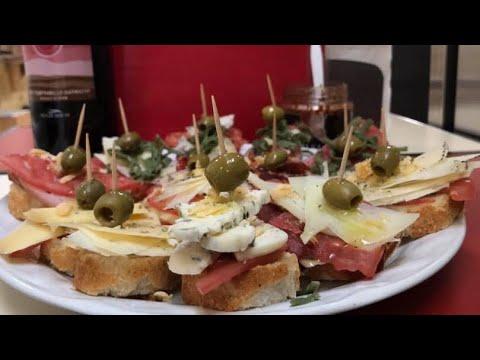 Cómo Preparar Montaditos o Tapas Españolas