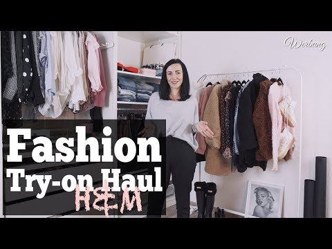 Fashion Try-on Haul H&M Herbst 2018 |Lookbook & OOTD