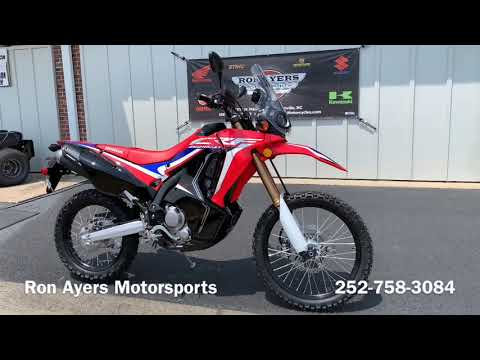 2019 Honda CRF250L Rally in Greenville, North Carolina - Video 1
