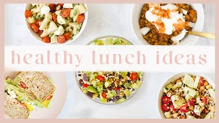 5 HEALTHY LUNCH IDEAS | Easy + Vegetarian Recipes! ✨