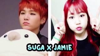 BTS's Suga and 15&'s Jimin