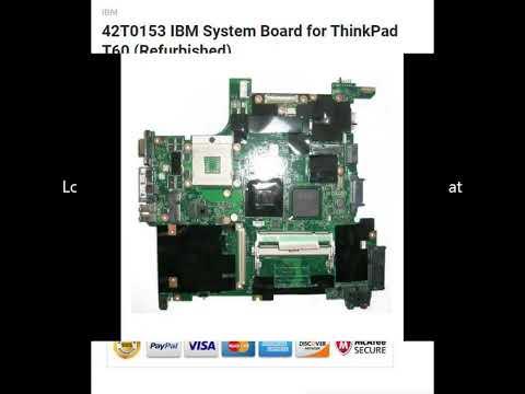 42T0153 IBM System Board for ThinkPad T60 (Refurbished)