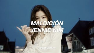 Maldición  Lola Indigo (english Lyrics)  JENNIE KIM | Notpartypoison