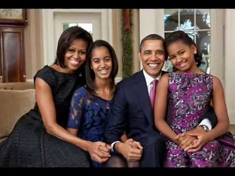 BARACK OBAMA FAMILY PICTURES @US President