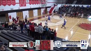 North Miami Boys Basketball vs Whitko - 2-13-19