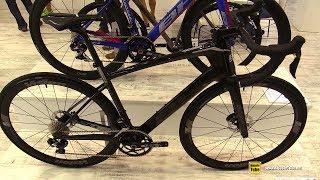 61497f1559d 2019 Bh Bicycles Quartz Aero Disc 4.5 Road Bike - Walkaround - 2018 Eurobike