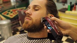 How To Style: Mens Long Hair With Undercut And Layers Haircut Tutorial