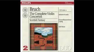BRUCH - Violin Concerto No. 3 in D Minor, Op. 58 - Masur-Salvatore Accardo-Ge