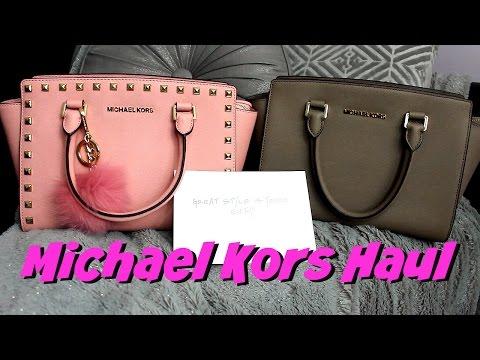 Michael Kors Handbag Haul 2016